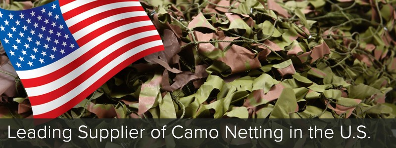 The Leading Supplier of Camo Netting in the U.S.